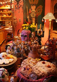 Day of the dead feast