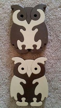 Owls puzzle (mix & match)