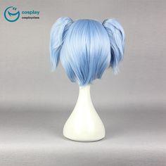 Assassination Classroom Shiota Nagisa Short Blue Cosplay Wig #anime #wigs #prop #cosplay #girl