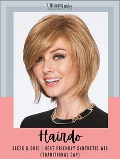 The textured bob makes a come back! This layered look has a tapered back with loose shattered lengths throughout, allowing smooth or voluminous styling options in the crown and sides.#hairstyles #hairdo #hairoftheday #styleinspo #styles #styleoftheday #stylegram Wavy Bob Hairstyles, Trending Hairstyles, Remy Human Hair, Human Hair Wigs, Line Bob Haircut, Short Haircut, Natural Hair Styles, Short Hair Styles, Blonder Bob