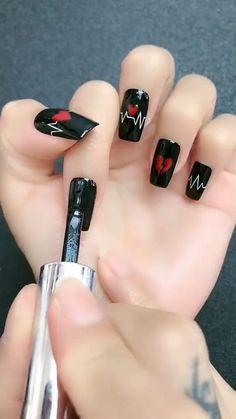 Toe Nail Art, Toe Nails, Nail Art Designs Videos, Minx Nails, Best Acrylic Nails, Pretty Nail Art, Trendy Nails, Nail Arts, Halloween Nails