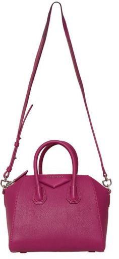 Givenchy Mini Antigona Bag in Pink (Fuchsia) Shopper Bag 62fb58b807100