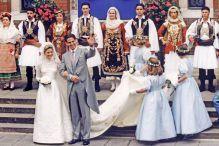 1995. Príncipe Pablo de Grecia y Marie Chantal Miller