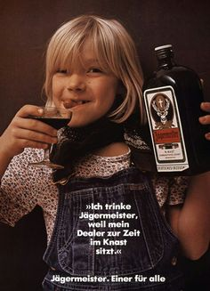 """not sure what the german writing says, but it has to be something like """"the best cough syrup in germany. even the kids will love its great taste"""" Vintage Advertisements, Vintage Ads, Vintage Posters, Best Cough Syrup, Graduation Party Foods, Oktoberfest Party, Viral Marketing, Beer Festival, Funny Pictures"""