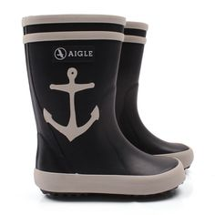 Aigle Marine Anchor Wellington Boots