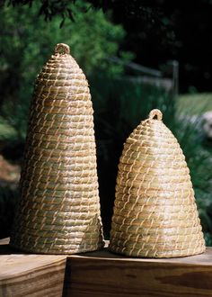 Garden Handwoven Bee Skeps