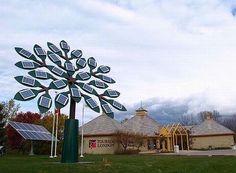 "Solar Panel ""Tree"""