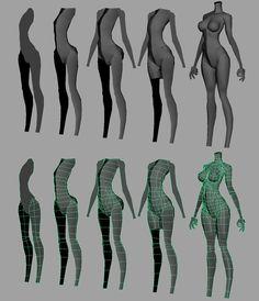 モデリング参考 Green Things green color in fireworks 3d Anatomy, Anatomy Poses, Human Anatomy, Anatomy Male, 3d Model Character, Character Modeling, Character Drawing, Maya Modeling, Modeling Tips