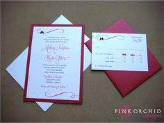 Sweet Love Bird Wedding Invitations