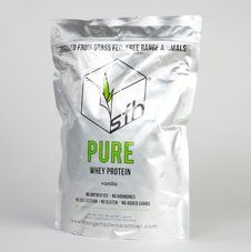 SFH Pure Whey protein is derived from grass fed, free range cows, which are never treated with antibiotics or bovine growth hormones.