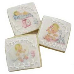 Sweet Baby Wafer Paper, Set of 36 Images