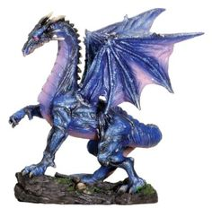 Midnight Dragon Serpent Collectible Figurine