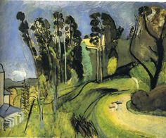 MONTALBAN, LANDSCAPE Henri Matisse 1918 Expressionism oil, canvas Private Collection