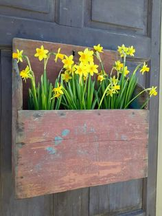 This is like the wall boxes at Circa Home Living. Love this!
