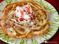 Bisquick Funnel Cake Recipe - Creamty Recipes - All food recipe network