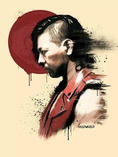 Shinsuke Nakamura artwork