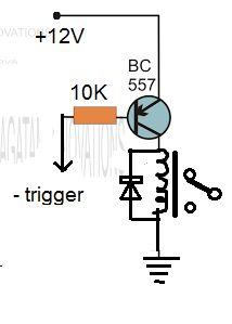 automatic rain sensing wiper using 555 circuit diagram