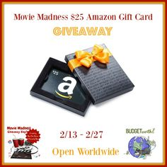 Want to see an awesome new movie? Enter to win a $25 Amazon Gift Card here!