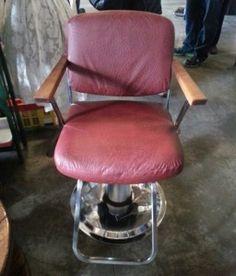 fantastic Vintage Barber Chair Barber Chair, Furniture, Vintage, Home Decor, Decoration Home, Room Decor, Home Furnishings, Vintage Comics, Home Interior Design