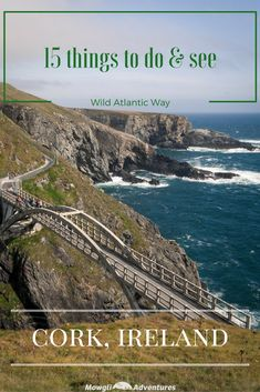 15 incredible things to do in Cork – Ireland - Wild Atlantic Way - a great list of things to see and do! From rugged cliffs tops, stunning beaches, colourful villages and a wild peninsulas, touring Cork won't disappoint. #WAW #WildAtlanticWay #WestCork Read the full article here: http://mowgli-adventures.com/things-to-do-in-cork-ireland/