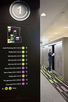 :: BBC North Offices, MediaCityUK | Wayfinding + Signage ::