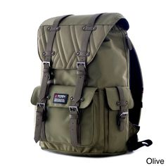 Constructed of authentic water resistant high-density 1680D ballistic  polyester Padded laptop compartment that fits e6d9ce4525