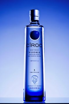 Ciroc, tastiest vodka around. #cirocvodka #ciroc #vodka
