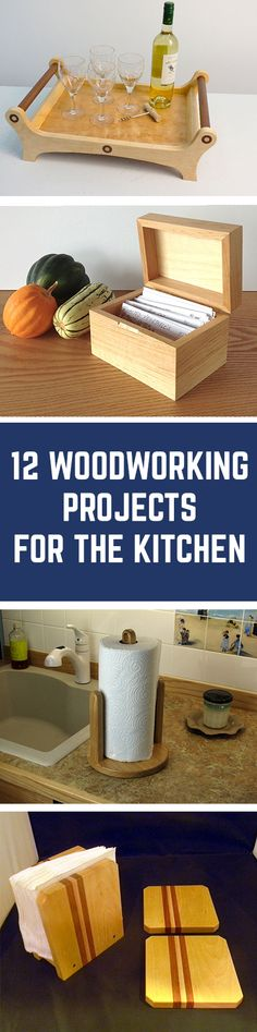 12 Woodworking Project and Gift Ideas for the Kitchen | WWGOA