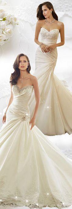 #Sleeveless  #Wedding  #Dresses