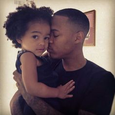 Bow Wow w/ daughter Shai