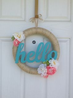 Hello Spring Wreath!
