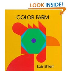 The shapes make pictures and the pictures make shapes Each page is a cut-out of a shape This book has bright colors and bold labels for all shapes
