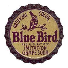Blue Bird Grape Soda