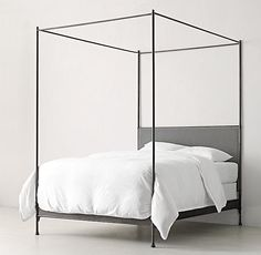 Caleigh Black Iron Canopy Bed                                                                                                                                                                                 More