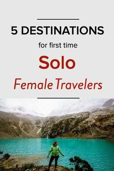 5 Destinations I Recommend For First Time Solo Female Travelers. As A Long Time Solo Traveler Throughout Asia, Thailand, Europe And Other Places, I've Learned So Much About What Makes For A Fun And Safe Solo Travel Destination. Here Are My Top 5 Countries Places To Travel, Places To Go, Time Travel, Travel Europe, Couple Travel, Voyager Seul, Solo Travel Tips, Travel Hacks, Budget Travel