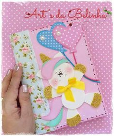 Crochet ideas that you'll love Foam Crafts, Diy And Crafts, Paper Crafts, Watercolor Mandala, Diary Covers, Unicorn Crafts, Diy School Supplies, Harry Potter Diy, Love Craft