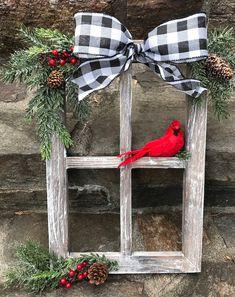 Farmhouse Christmas Decor, Rustic Christmas, Christmas Home, Vintage Christmas, Christmas Ideas, Christmas Island, Christmas Vacation, Christmas 2019, Elegant Christmas
