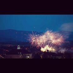 fireworks on the quad. #jmu