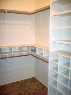 built-in Master bedroom closet design - Master Bedroom Closets Design, Pictures, Remodel, Decor and Ideas - page 6 Closet Redo, Reach In Closet, Bedroom Closet Design, Closet Remodel, Master Bedroom Closet, Kid Closet, Closet Designs, Closet Storage, Home Bedroom