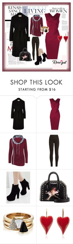"""""""Rose gal  36"""" by fatimazbanic ❤ liked on Polyvore featuring River Island, Ryan Roche, STELLA McCARTNEY and Brixton"""