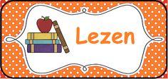 Structuur in de klas brengen: kaarten voor op het prikbord. --> Lezen/boeken…