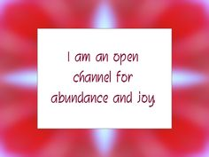 Daily Affirmation for April 25, 2014