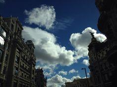 El cielo sobre Madrid