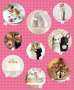 Onde comprar: Topos de bolo de casamento - Gulab