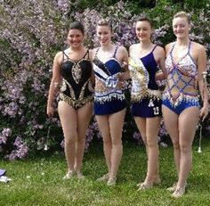 Pretty costumes - I love to see the variety!