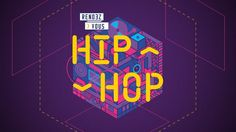 Video teaser for a national hiphop festival in France call Rendez-vous hiphop !  Music: Nodey - Tyra banks Behance project