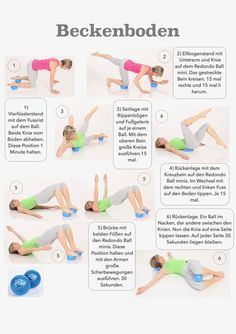 beckenbodengymnastik bilder – Google-Suche Pilates Training, Pilates Workout, 6 Pack Abs Workout, Pilates Abs, 30 Minute Workout, Baby Workout, Aerobics Workout, Bikini Workout, Morning Ab Workouts