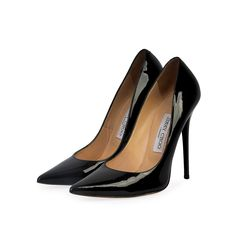 If you are an admirer of the elegant fashion, this pair of Jimmy Choo pumps will add just the right vibe to your closet.  ITEM CONDITION: Pre-owned – Very good condition.  SUPPLIED WITH: These shoes are supplied with a Luxity dust bag.  SIZE: 37.5 – (UK size 4.5)  THE LEFT SHOE: Very good condition – With normal signs of wear.  THE RIGHT SHOE: Very good condition – With normal signs of wear. Patent Leather Pumps, Black Pumps, Jimmy Choo, Dust Bag, Christian Louboutin, Shoe, Pairs, Signs, Elegant
