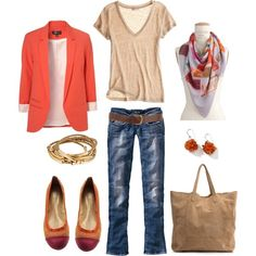"""Love this outfit  """"Ticketstub Storyteller Scarf"""" by bluehydrangea on Polyvore"""