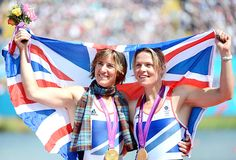Team GB Medals 2012  16. Katherine Grainger and Anna Watkins - GOLD  (Rowing: Women's Double Sculls)